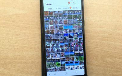Klantvraag: hoe hou ik de foto's op mijn mobiel overzichtelijk?